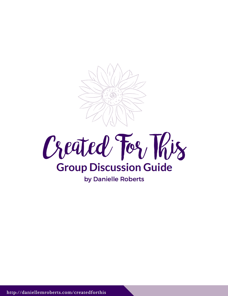 Created for This Group Discussion Guide